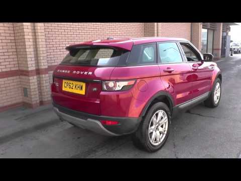 Land Rover Range Rover Evoque 5 Door Diesel 2013MY 2.2 TD4 Pure TECH Manual U8005