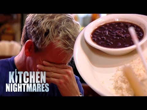 Gordon Ramsay Served COLD Soup and RAW Fish | Kitchen Nightmares