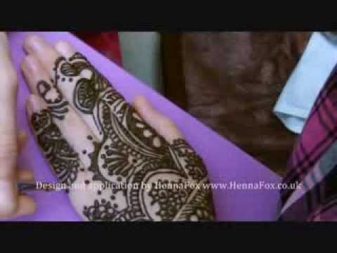 Bridal Henna Mehndi Hands And Feet