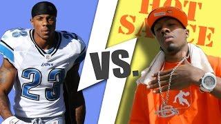 NFL vs Streetball (5 on 5 full game)