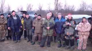 Зимняя рыбалка. Открытие сезона твёрдой воды 2014-2015