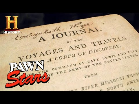 Pawn Stars: Rebecca Makes a COSTLY Discovery on Lewis & Clark Journal (Season 18) | History