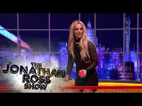 Britney Spears plays 'Spears Pong' - The Jonathan Ross