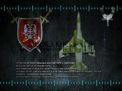 Soko Orao J-22 - 3D Modeling,Texturing,...