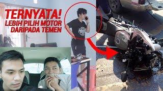 Video PRANK KECELAK*AN PAKE MOTOR TEMEN SAMPE MARAH BESAR BANGET! Ft HAGZ MP3, 3GP, MP4, WEBM, AVI, FLV September 2018