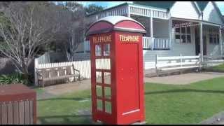 Tilba Tilba Australia  city photo : Central Tilba's Vintage Phone Box, NSW South Coast, Australia
