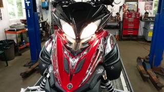 9. 2011 Yamaha Apex start up