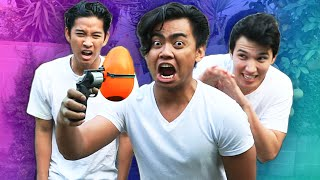 Video EXTREME BALLOON ROULETTE CHALLENGE! MP3, 3GP, MP4, WEBM, AVI, FLV September 2018