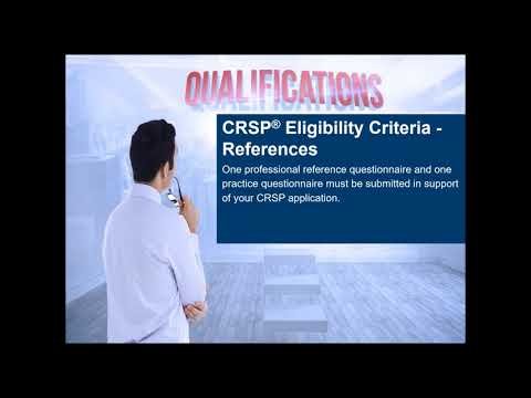 Bcrsp Certifications Overview - Becoming A Crsp Or Crst