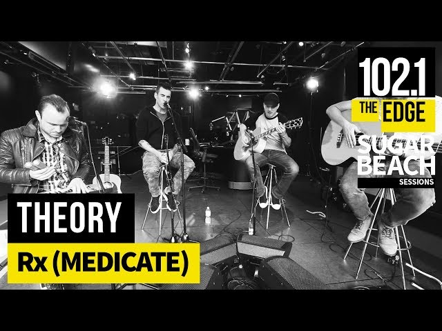 Theory-rx-medicate-live
