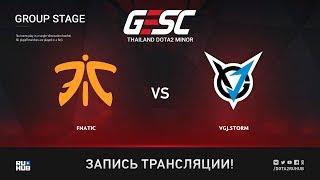 Fnatic vs VGJ.Storm, GESC: Bangkok [Eiritel]