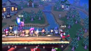 Caketastic (Lucario) vs Twin (Ivy & DK)