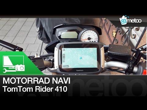 Motorrad Navi Test - TomTom Rider 410 Unboxing Montage Fahrt - 83metoo