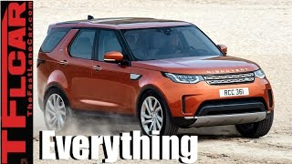 2017 Land Rover Discovery: Everything You Ever Wanted to Know by The Fast Lane Car