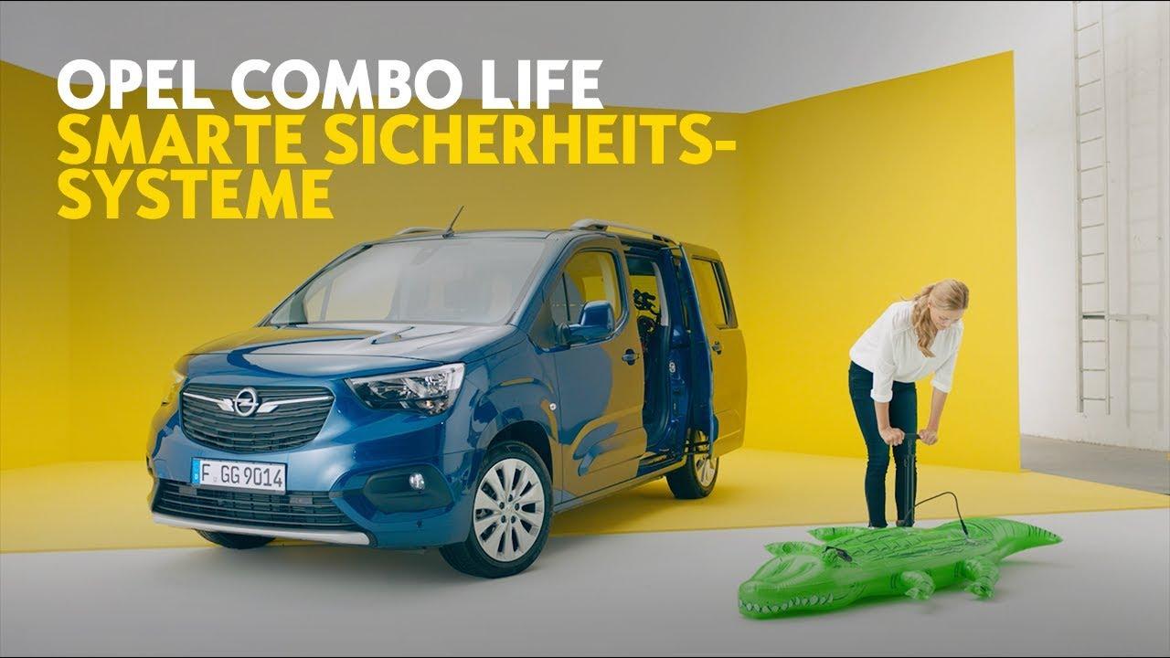 Opel Combo Life: Smarte Sicherheitssysteme