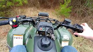3. Moto Vlog Ep 1---Honda Recon 250