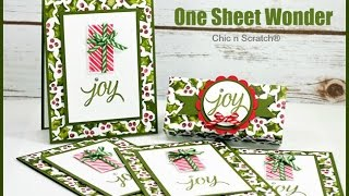 Video One Sheet Wonder - featuring Your Presents by Stampin' Up! MP3, 3GP, MP4, WEBM, AVI, FLV Juli 2019