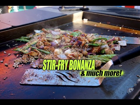 Griddle Stir-Fry Madness + Boston's North End