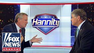 Hannity grills NYC Mayor De Blasio in explosive interview