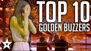 Video 10 GOLDEN BUZZER Kid Singers on AGT & BGT | Got Talent Global MP3, 3GP, MP4, WEBM, AVI, FLV April 2019
