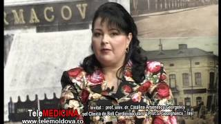 Emisiunea TeleMedicina - Invitata Catalina Arsenescu Georgescu - 20.04.2015