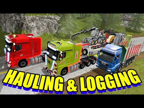 Holmer & Claas Mercedes Actros MP4 SLT + Dolls Trailer v1