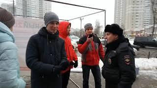 Навальный 2018  Пушкино