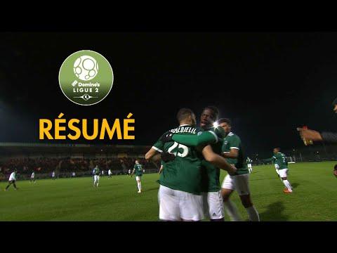 Red Star  FC - RC Lens ( 1-0 ) - Résumé - (RED - RCL) / 2018-19
