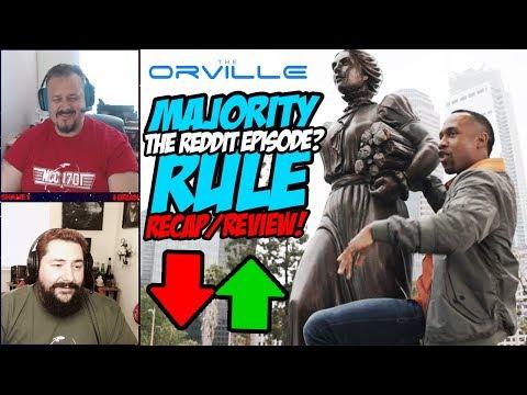 The Orville Ep. 7: Majority Rule - Recap/Review.