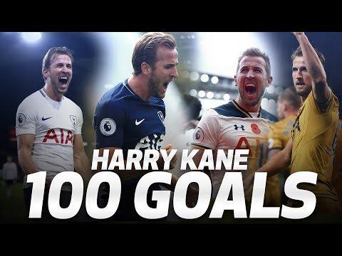 Video: HARRY KANE'S 100 PREMIER LEAGUE GOALS
