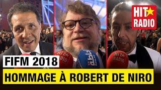 HOMMAGE À ROBERT DE NIRO   FIFM 2018 AVEC MAROC TELECOM