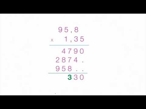 comment poser et effectuer une multiplication