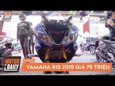 Moto PKL - Chi tiết Yamama R15 2019 giá 79 triệu đồng |Motordaily.vn| - Thời lượng: 6:25.