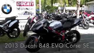 8. Pre-Owned 2013 Ducati 848 EVO Corse SE Walkaround at Euro Cycles of Tampa Bay
