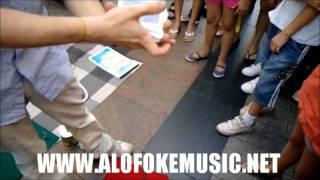 Lapiz Conciente&Alofoke En Cura Con Un Mago En Madrid!!!
