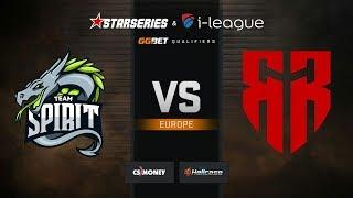 Spirit vs Red Reserve, map 3 overpass, StarSeries & i-League S7 GG.Bet EU Qualifier