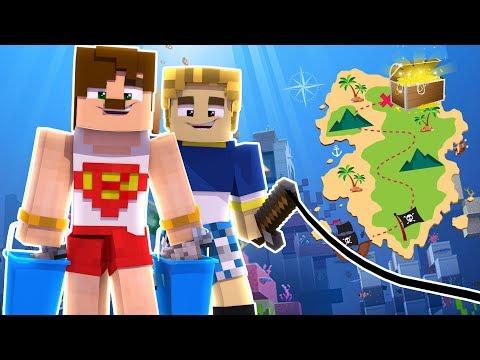 BURAK OYUNDAYLA GİZLİ HAZİNEYİ BULDUK #2 DERİN SON (Minecraft)