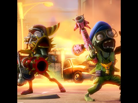 Tráiler de lanzamiento de Plants vs. Zombies: Garden Warfare en PS3 y PS4