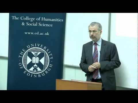 Antrittsvorlesung: Prof Kenneth Reid