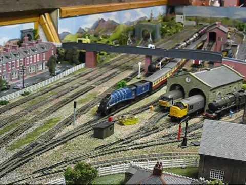 British Model Railway – Deltic, Windsor Castle, City of Sheffield, Sir Nigel Gresley