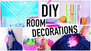 DIY room decorations +Organization! - YouTube