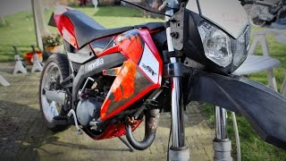10. Review + ride Aprilia SX50 Gianelli Conti