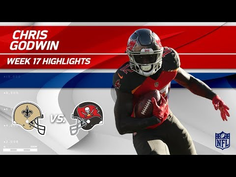 Video: Chris Godwin Highlights | Saints vs. Buccaneers | Wk 17 Player Highlights