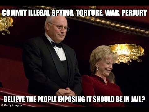 Lynne and Dick Cheney Confronted on Torture Program
