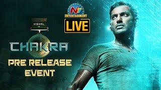 Chakra Pre Release Event LIVE   Vishal   Shraddha Srinath   Regina Cassandra  