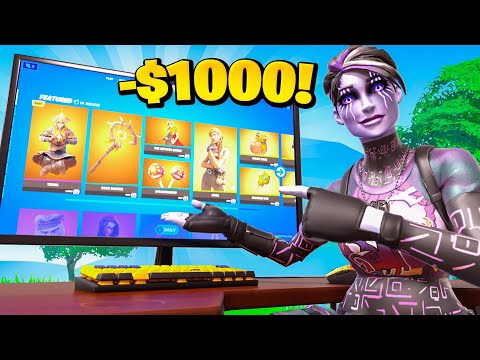 Every Death in Fortnite I buy something from the Item Shop...