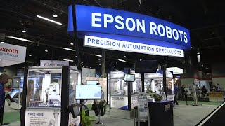 7. Epson Robots at Assembly 2018 | Featuring Synthis T-Series & Force Guide