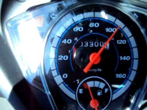 honda wave dash.top speed