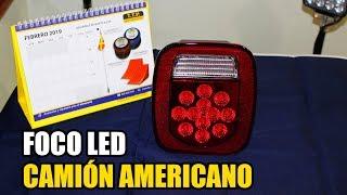 7. Foco Trasero LED 12-24V para Camión Americano | T.T.P. CHILE
