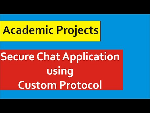 Java Projects With Source Code - Secure Chatting Application in Java